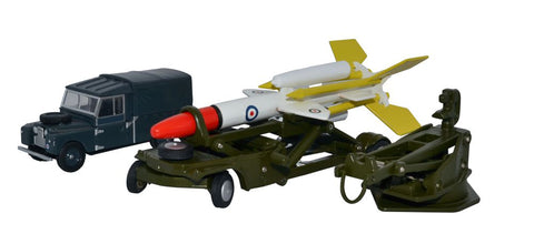 Bloodhound Missile Set, Royal Air Force (1:76 OO Scale)