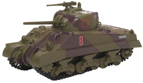 M4A2 Sherman III, 18th Armoured Regiment, 4th New Zealand Armored Brigade, Italy, 1944 (1:76 OO Scale)