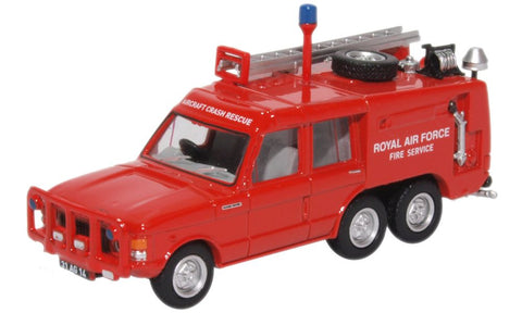 Truck Fire-Fighting Airfield Crash Rescue Mark 2 Range Rover (TACR2), RAF St. Mawgan (Red) (1:76 OO Scale)