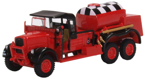 Fordson War Office Truck 1 (WOT1) Crash Tender, RAF Catterick (Red) (1:76 OO Scale)