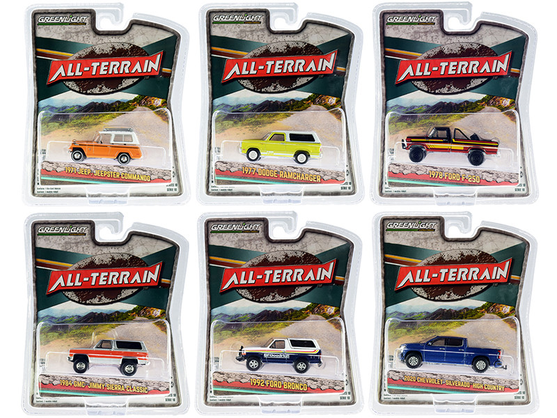 All Terrain Set of 6 pieces Series 10 1/64