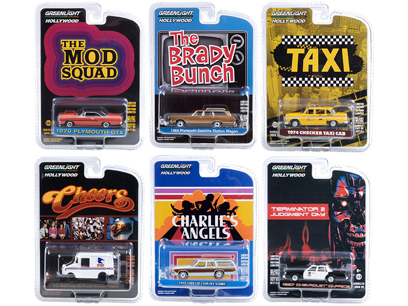 Hollywood Series Set of 6 pieces Release 29 1/64