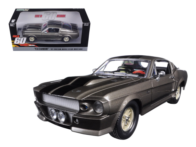 """1967 Ford Mustang Custom """"Eleanor"""" """"Gone in 60 Seconds"""" (2000) Movie 1/24"""