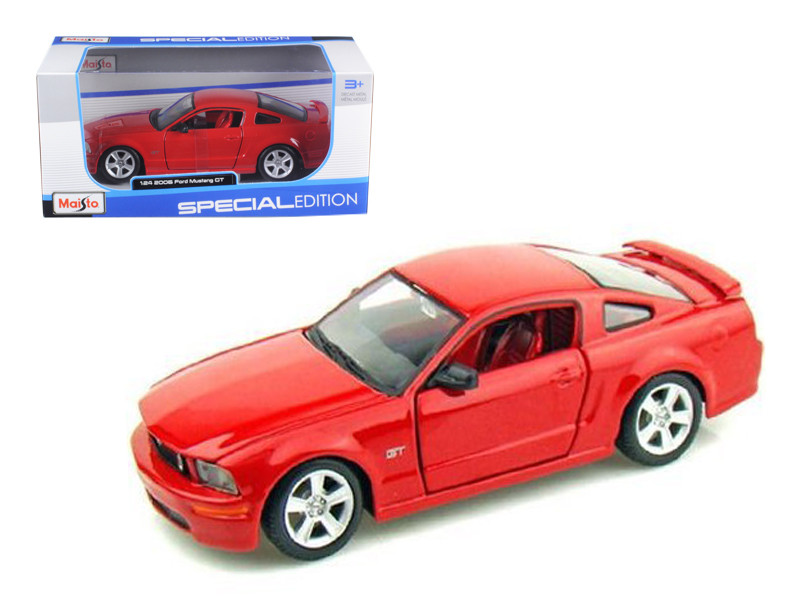 2006 Ford Mustang GT Red 1/24