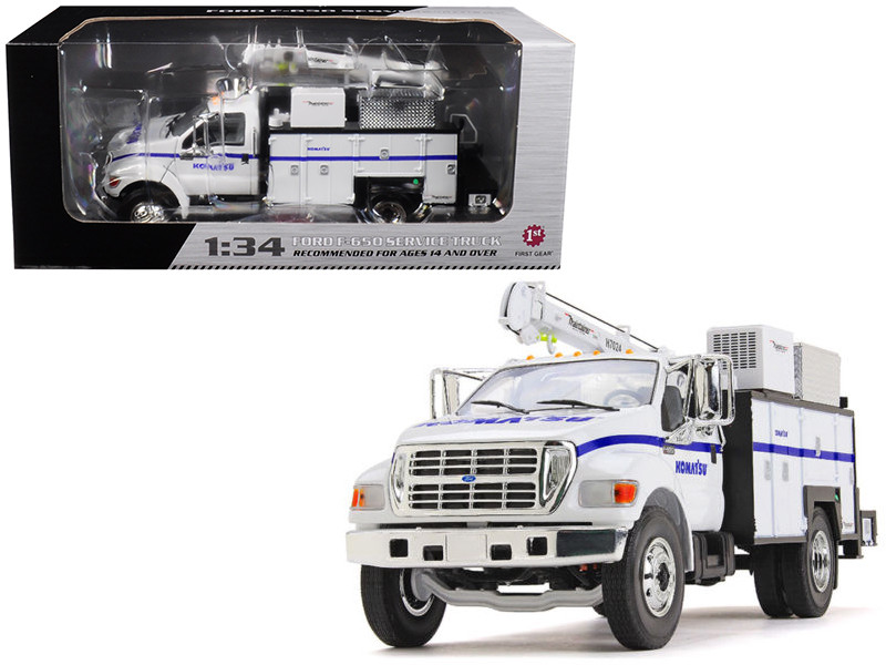 """Ford F-650 """"Komatsu"""" with Maintainer Service Body 1/34"""
