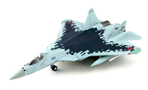 Su-57 Stealth Fighter Bort 053, Russian Air Force,  March 2019 (1:72) New Tooling!
