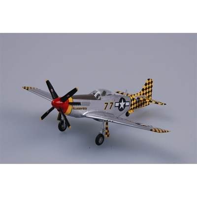 "P-51D Mustang USAAF 325th FG, 319th FS Checkertails, ""Belligerent Bets"", Italy 1945 (1:72)"