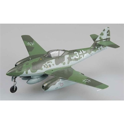 ME 262A Schwalbe Luftwaffe JV 44, White 3, Adolf Galland, Munich-Riem, Germany, 1945 (1:72)