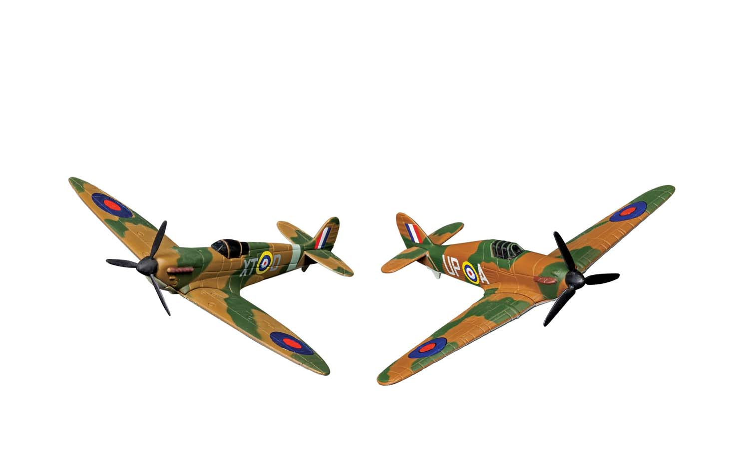 """Battle of Britain Collection - Supermarine Spitfire and Hawker Hurricance (3-5"""" unscaled)"""