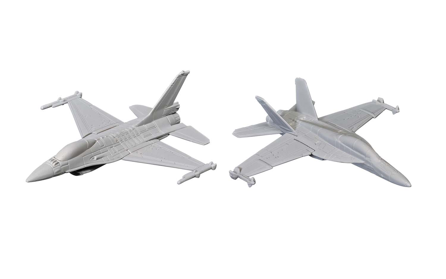 """US Strike Force Collection - F/A-18 and F-16 (3-5"""" unscaled)"""