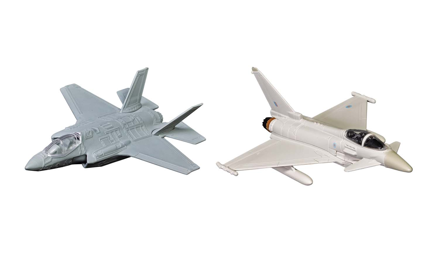 """Defence of the Realm Collection - F-35 and Eurofighter Typhoon (3-5"""" unscaled)"""