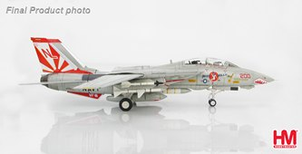 "F-14A Tomcat ""Miss Molly"" VF-111 ""Sundowners"", USS Carl Vinson, 1989 (1:72)"
