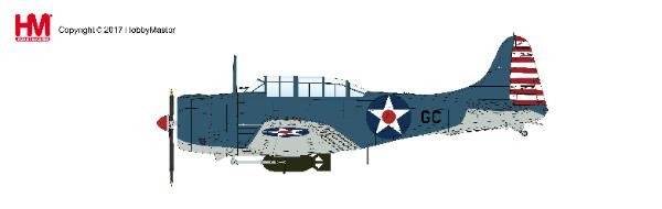 SBD-2 Dauntless - CDR Howard Young Pearl Harbour (1:32)