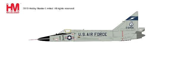 F-102 Delta Dagger Die Cast Model Florida ANG, 1960s (1:72)