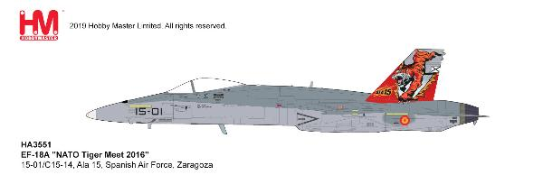 EF-18A Hornet Die Ala 15, Spanish Air Force, Zaragoza (1:72)