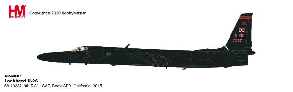 Lockheed U-2S 9th RW USAF Beale AFB California 2015 (1:72) New Tooling!