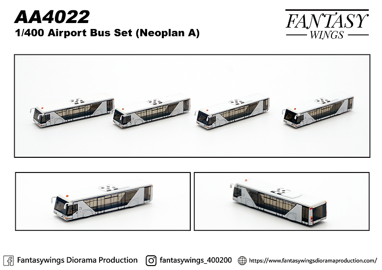 Airport Bus Neoplan A (1:400)
