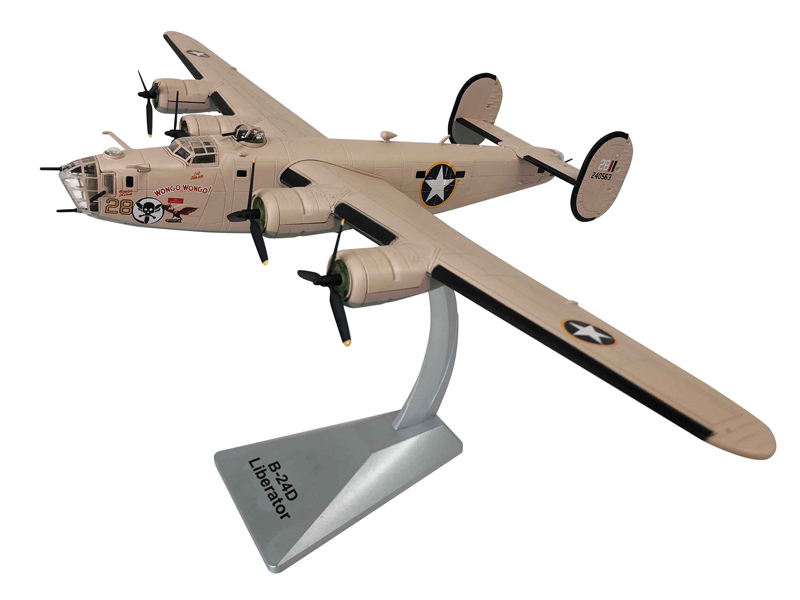 "B-24D Liberator ""Wongo Wongo"" 512th BS, 376th, 9th AF, 1943 - New Tooling (1:72)"
