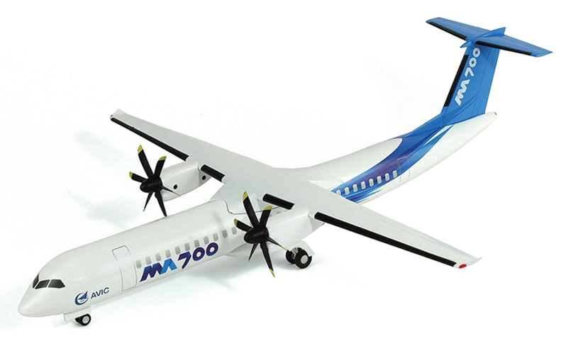 "Xian MA700 ""Modern Ark"" - Aviation Industry Corporation of China (AVIC) House Demonstrator (1:72)"