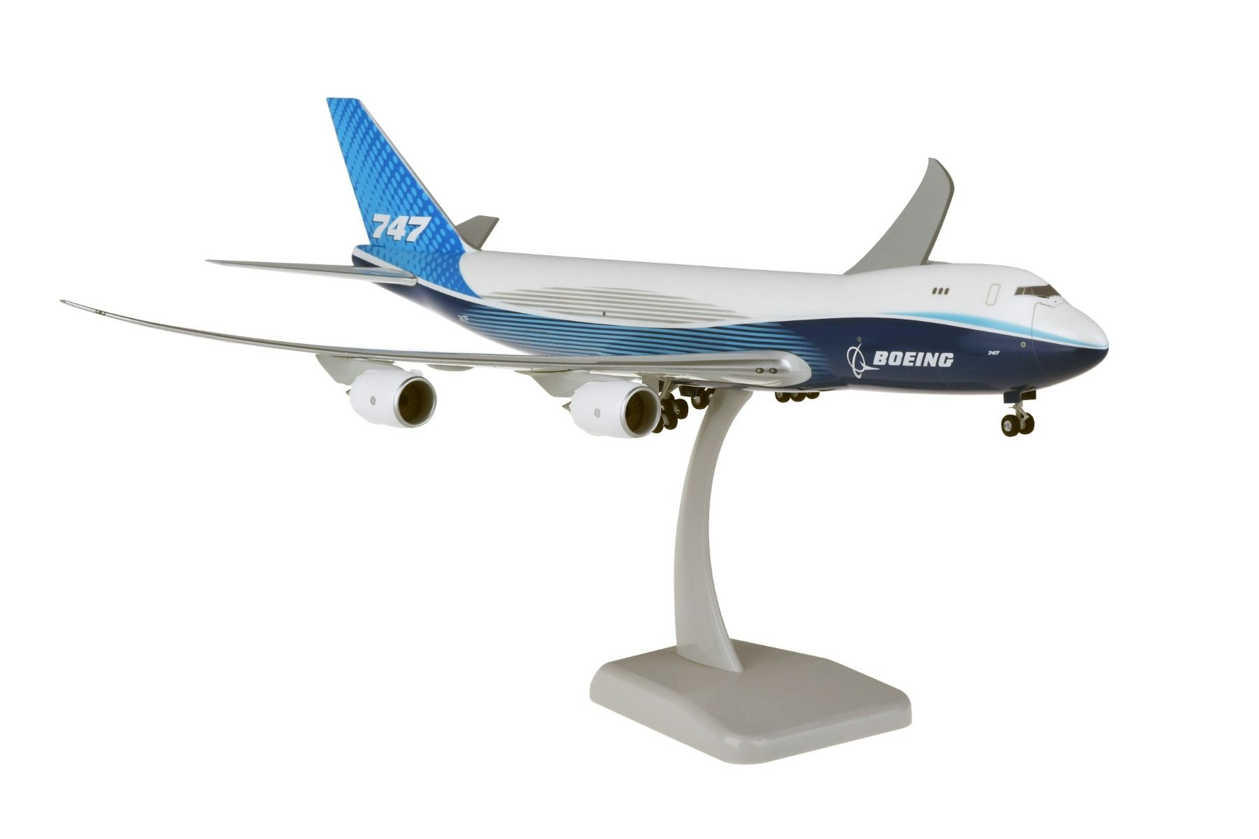 Boeing House 747-8F With Gear New Livery 2019 (1:200)