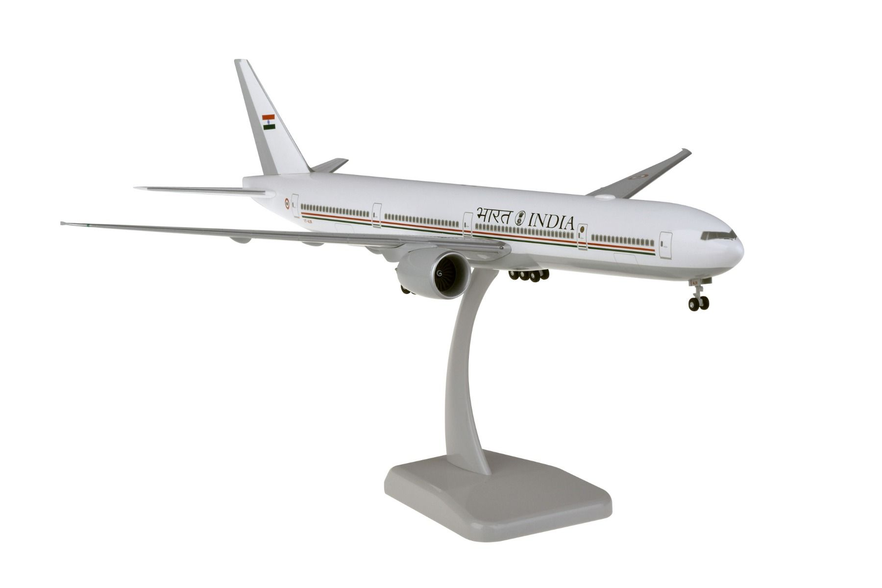 Indian Air Force 777-300ER 1/200 REG#VT-ALW With Gear (1:200)
