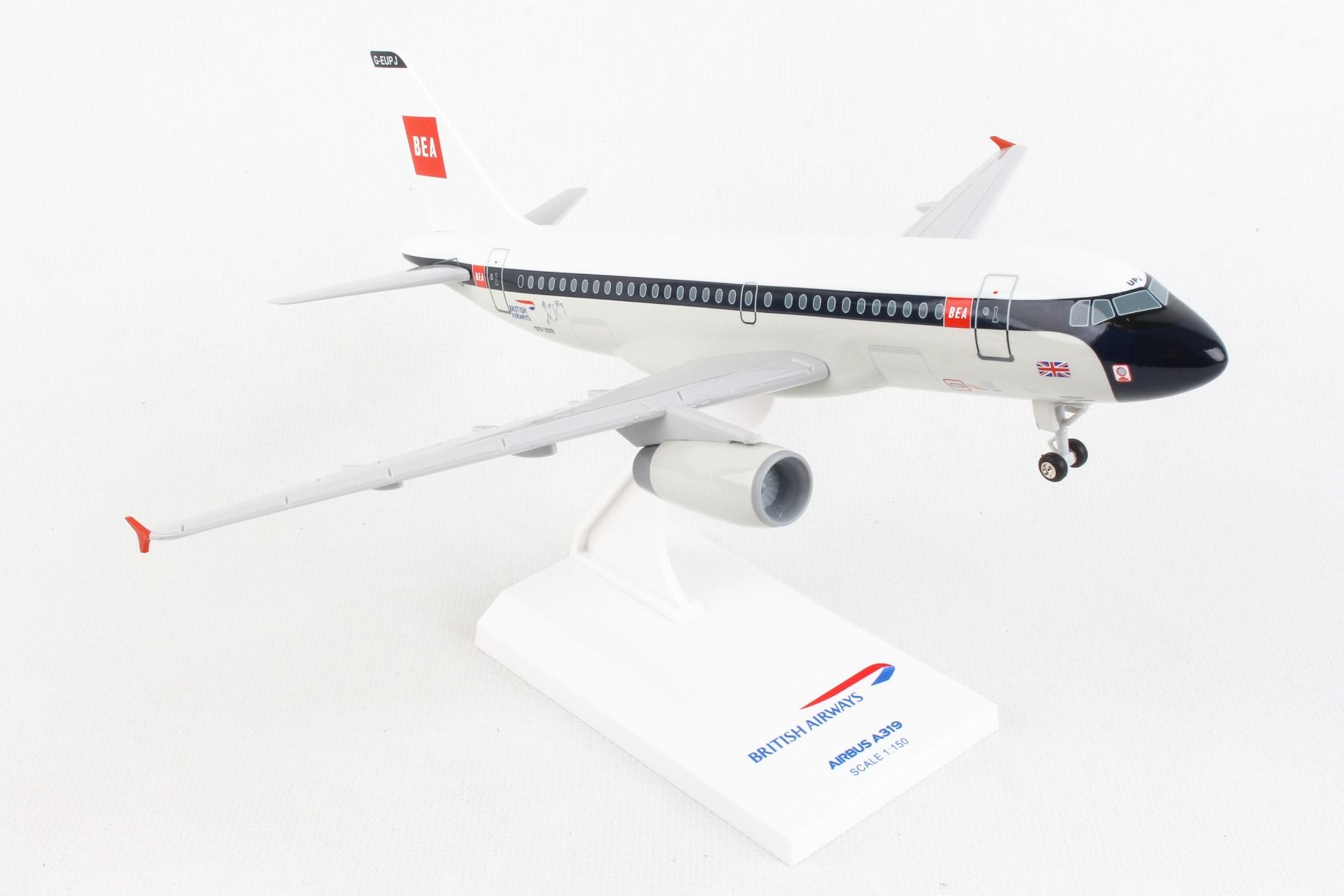 British Airways A319 BEA Retro Livery (1:150)