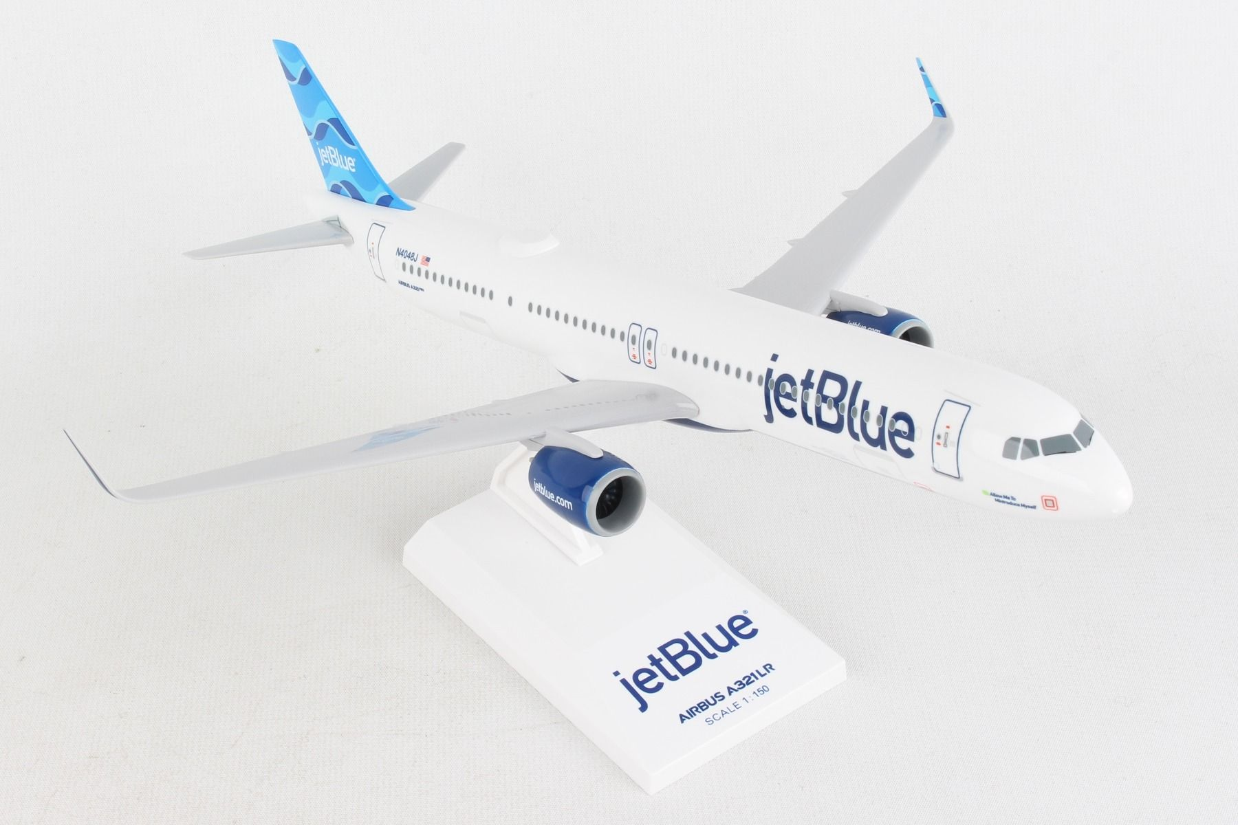 "JetBlue A321NEO ""Allow Me To Mintroduce Myself"" (1:150)"