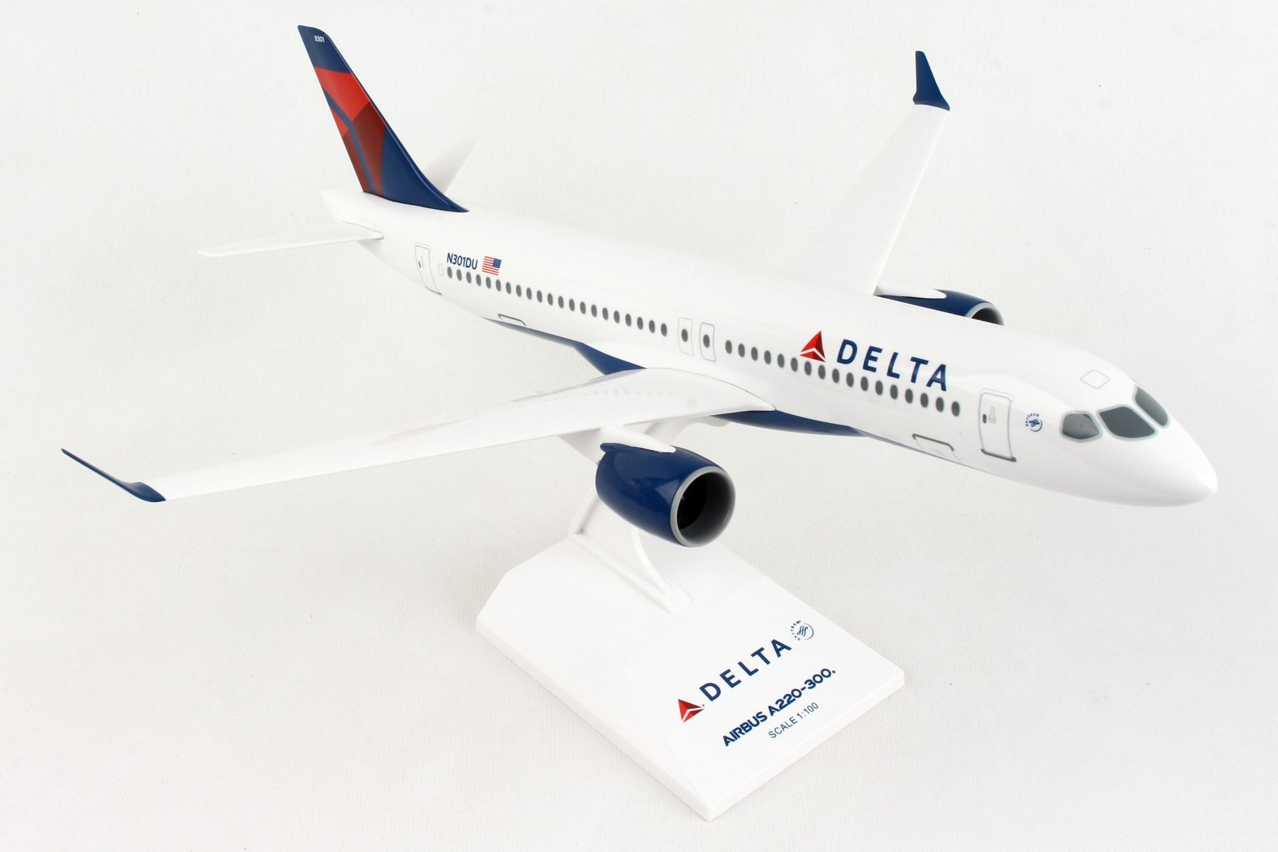 Delta Airlines A220-300 (1:100)