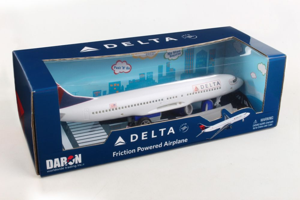 Delta Push And Go Airplane