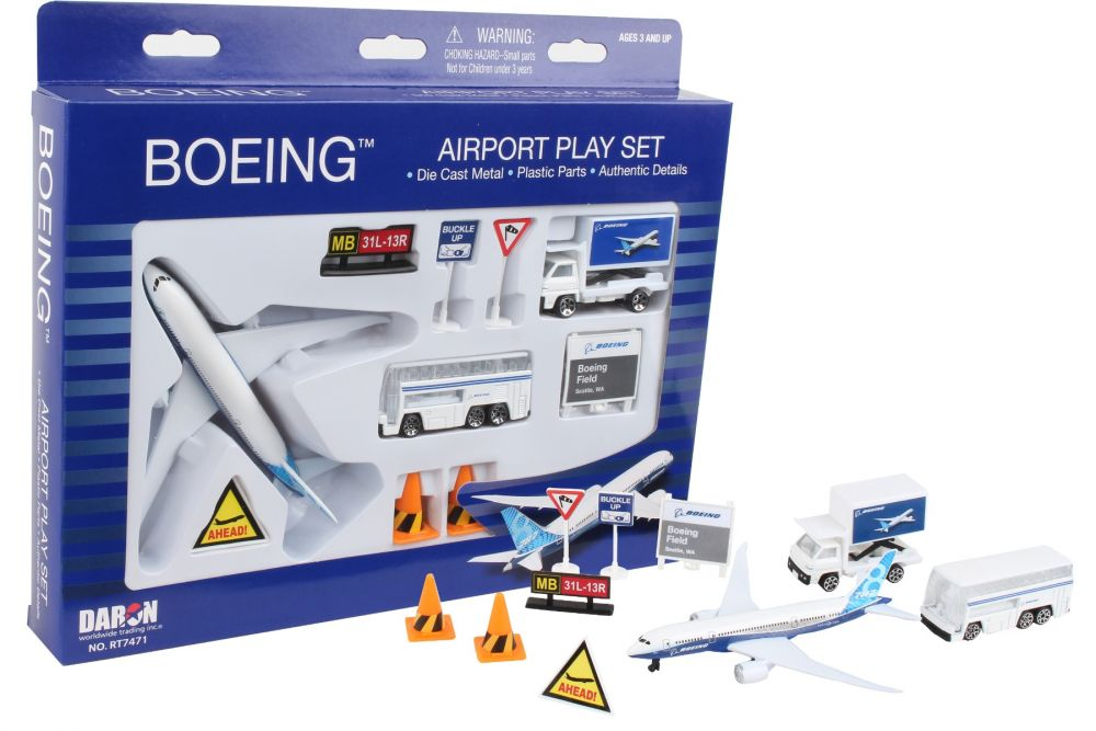 Boeing Commercial Play Set