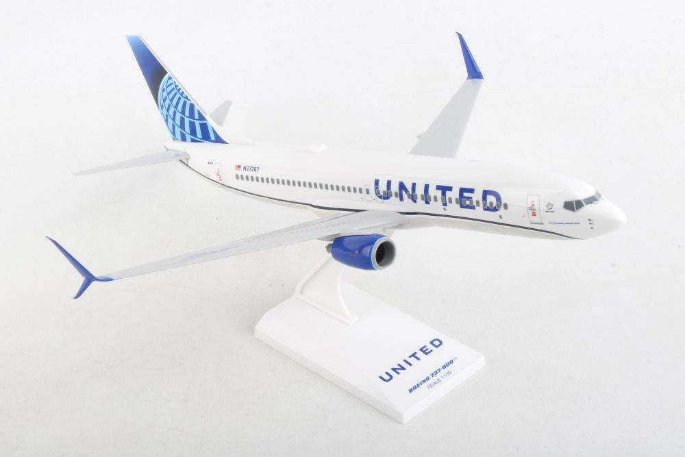 "United 737-800 Sharklets ""New 2019 Livery"" (1:130)"