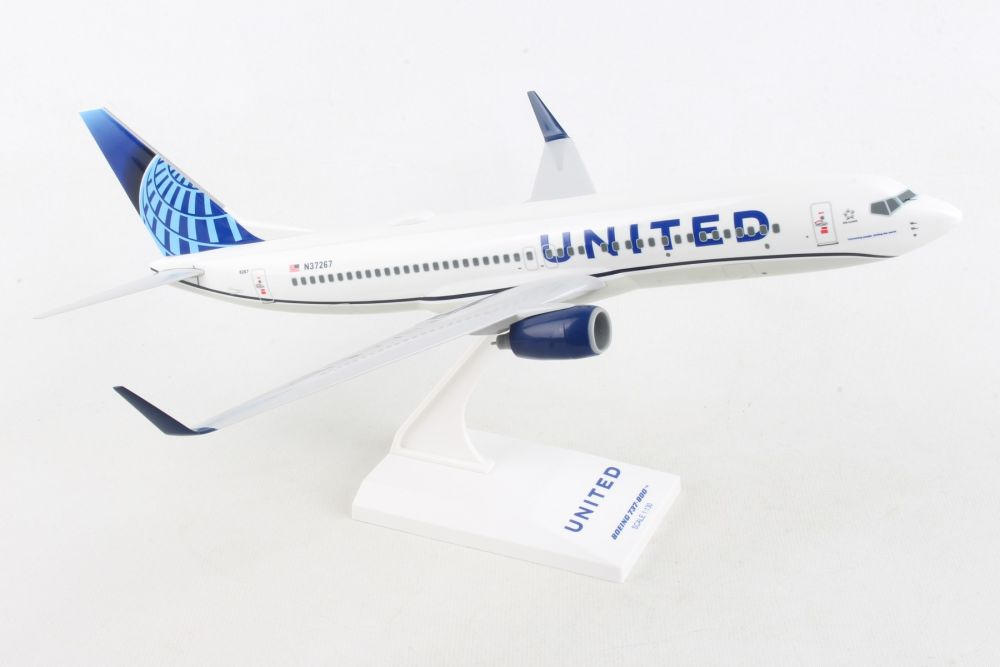 """United Airlines 737-800 2019 """"New Livery"""" (1:200)"""