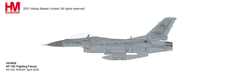 KF-16C Fighting Falcon 20th Fighter Wing, ROKAF, April 2020 (1:72)
