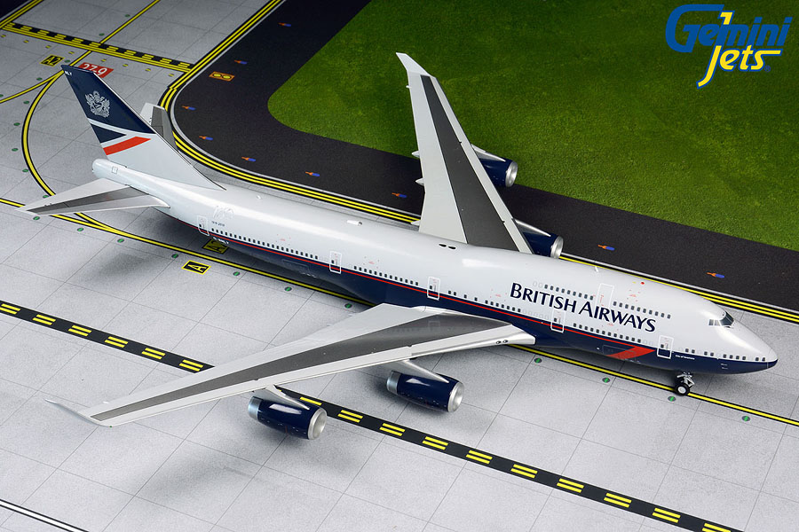 British Airways B747-400 retro Landor livery G-BNLY (1:200)