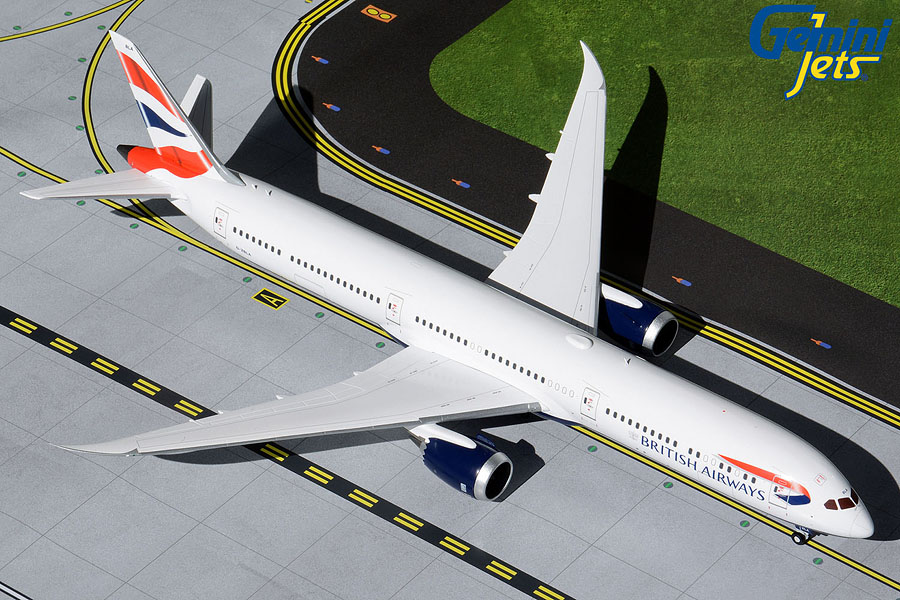 British Airways B787-10 G-ZBLA (1:200)