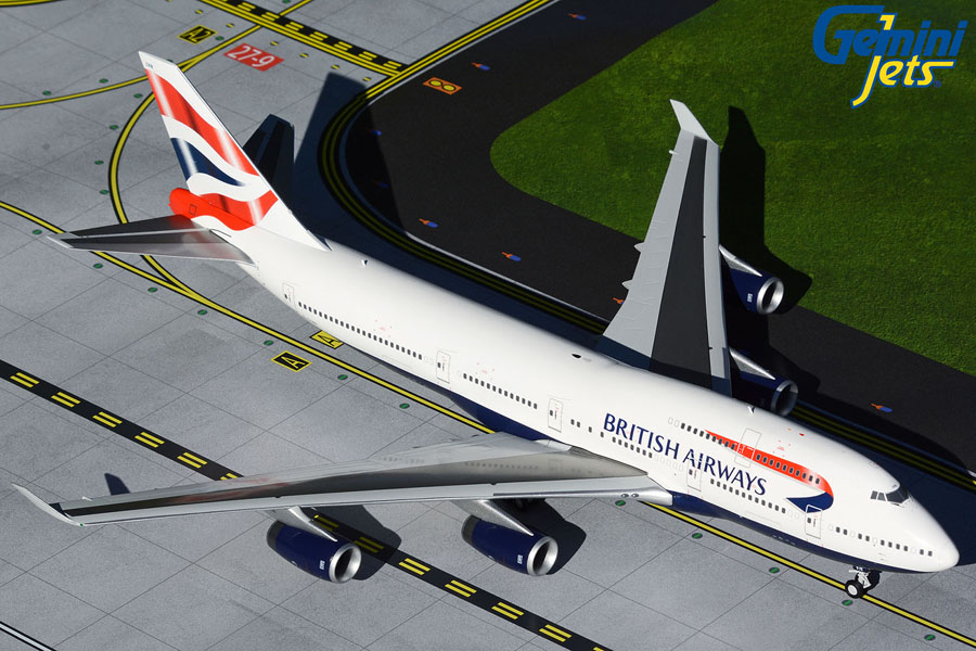 British Airways B747-400 G-CIVN (1:200)