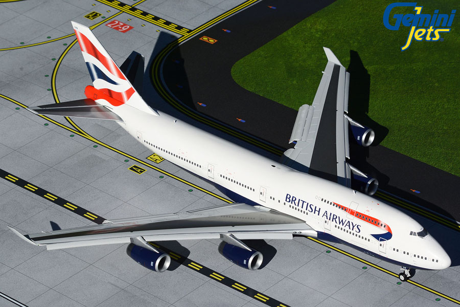 British Airways B747-400 G-CIVN flaps-down version (1:200)