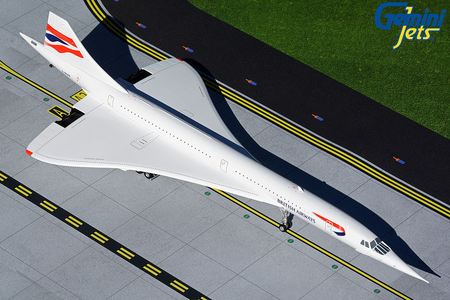 British Airways Concorde G-BOAB (1:200)