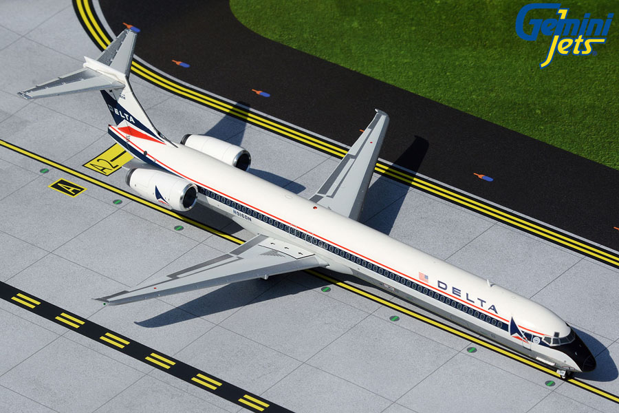 Delta Air Lines MD-90 N916DN widget livery (1:200)