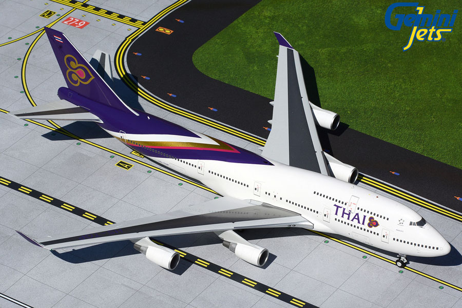 Thai Airways 747-400 HS-TGP (1:200)