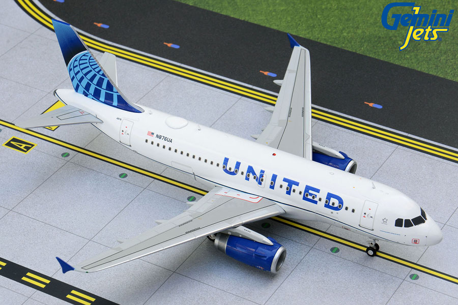United A319 N876UA new livery (1:200)