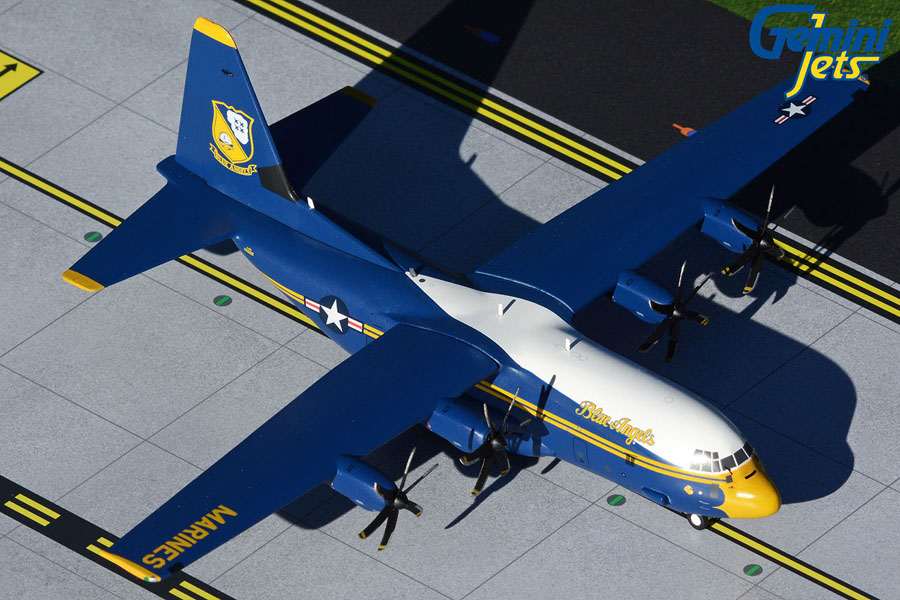U.S. Marines Blue Angels C-130J Hercules 170000 (new livery) (1:200)