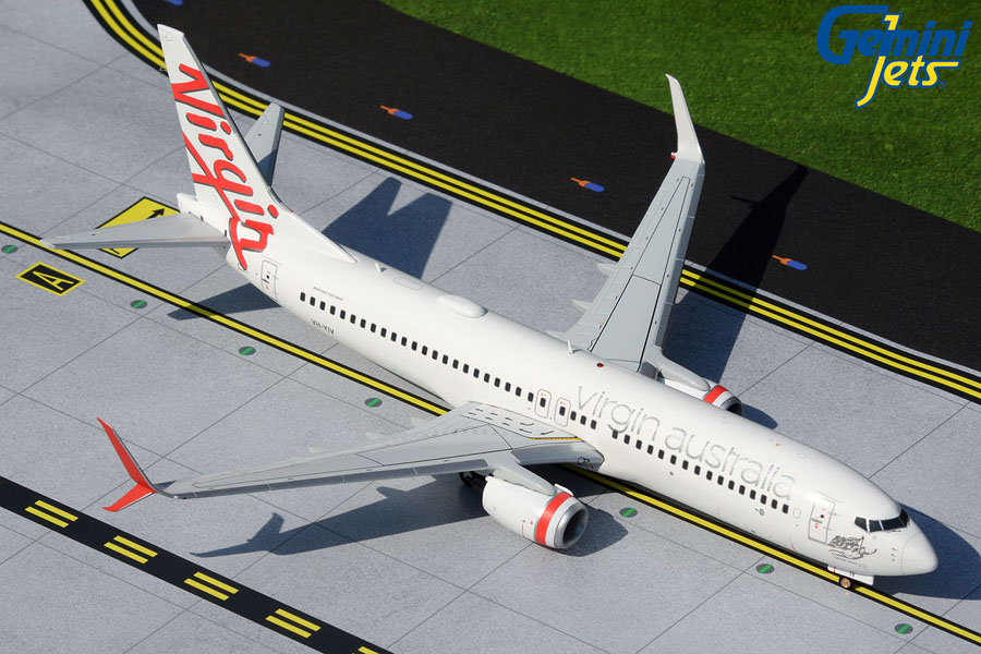 Virgin Australia Airlines B737-800 VH-YIV split scimitars (1:200)