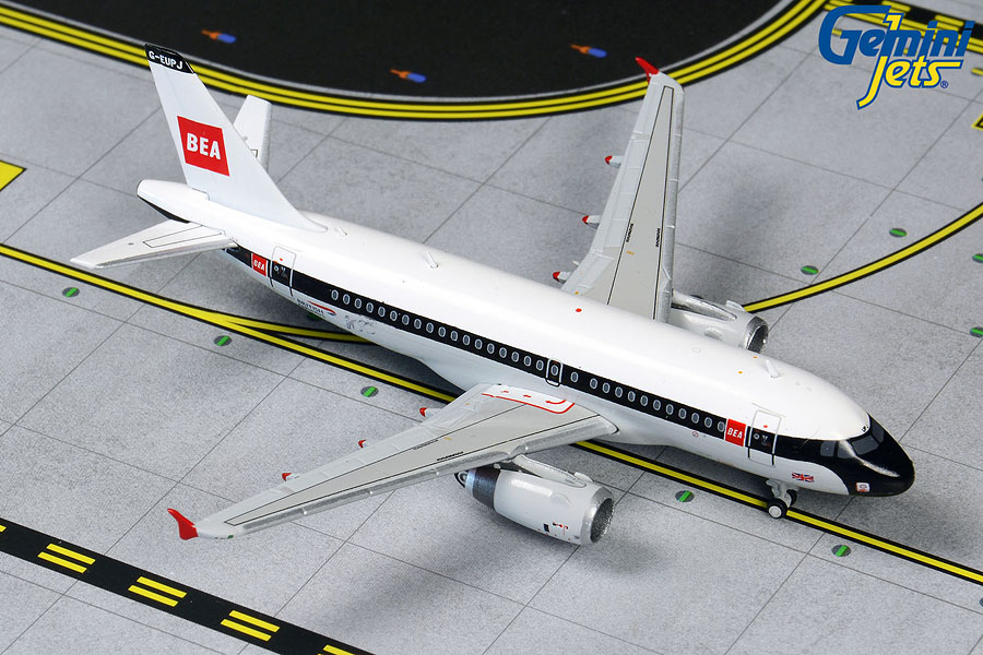 British Airways A319 retro BEA livery G-EUPJ (1:400)
