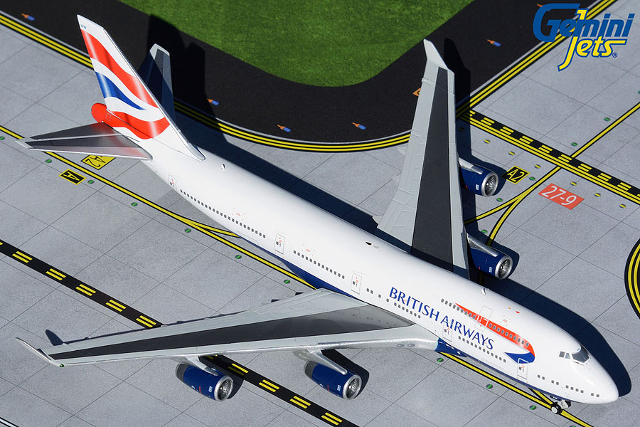 British Airways B747-400 G-CIVN (1:400)