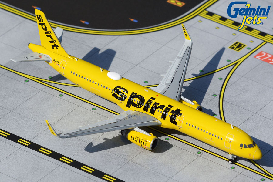 Spirit Airlines A321-200 N672NK (1:400)