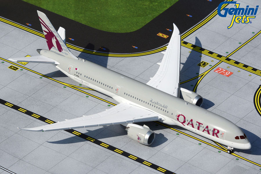 Qatar Airways B787-9 A7-BHA (1:400)