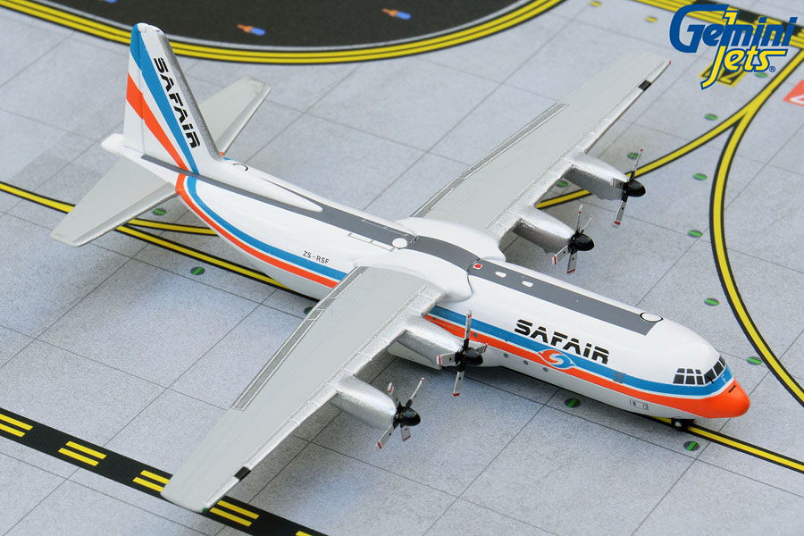 Safair L-100-30 Hercules ZS-RSF old livery (1:400)