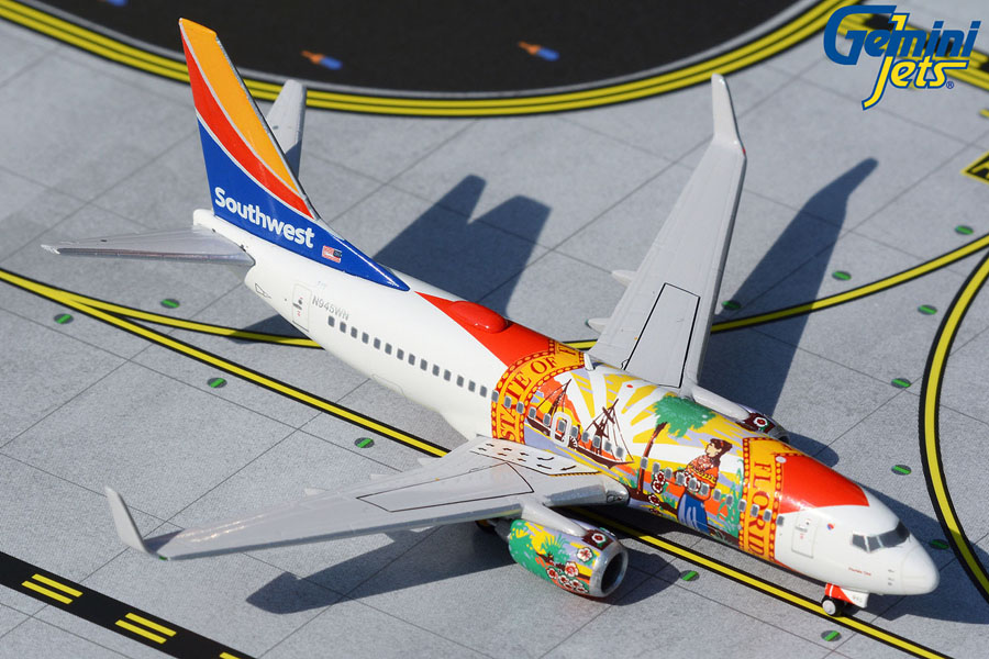 "Southwest Airlines B737-700 N945WN ""Florida One"" (1:400)"