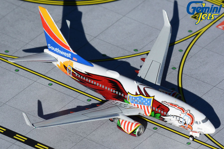 Southwest Airlines B737-700 N918WN Illinois One (1:400)